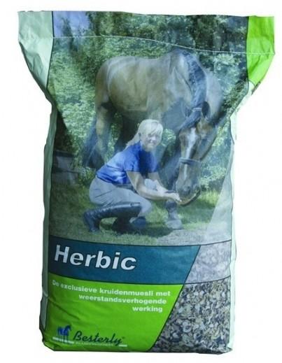 Krmivo koně Müsli Besterly Herbic 15kg