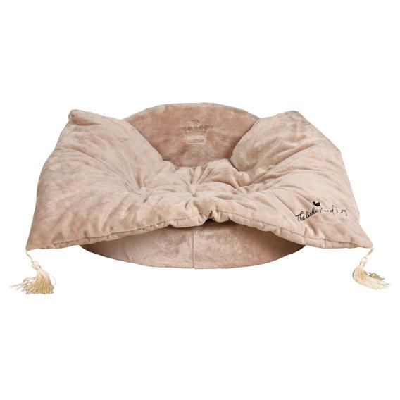 Pelech s dekou King of Dogs béžový 70x22x55 cm