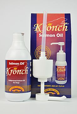 Lososový olej pes Kronch 250ml