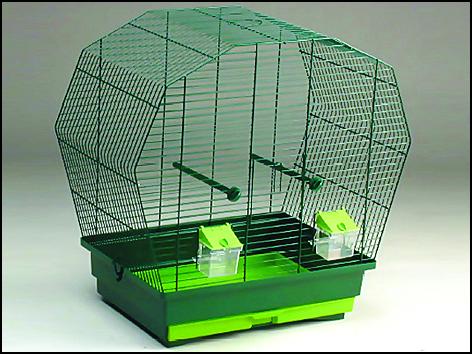 Klec RASCO K6 tmavě zelená 1ks