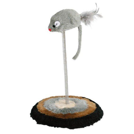 Myš na pružině 15x22cm