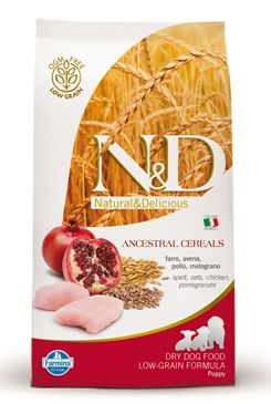 N&D Low Grain DOG Puppy Chicken & Pomegranate 12kg + DOPRAVA ZDARMA
