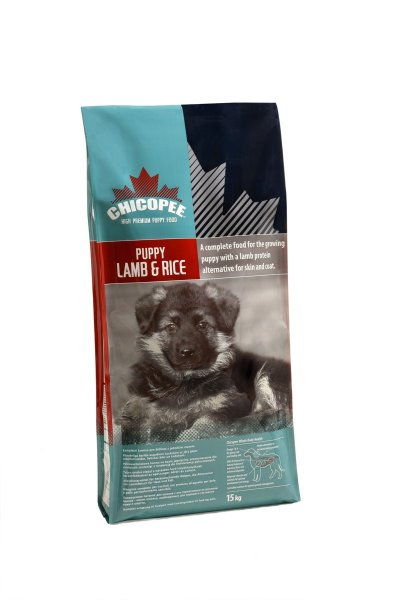 Chicopee Puppy Lamb&Rice 15kg