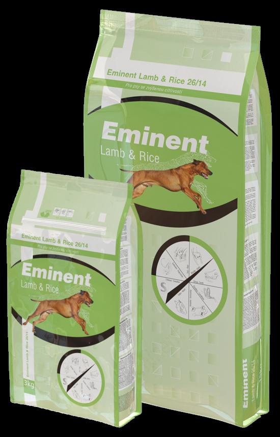 Eminent Dog Lamb & Rice 15kg