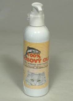 Lososový olej 100% kočka 200ml