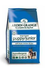 Arden Grange Puppy/Junior Large Breed with fresh Chicken & Rice 6kg