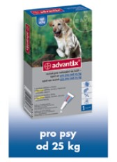 Advantix pro psy spot.on.nad 25kg 1x4ml
