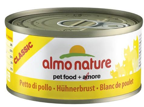 Almo Cat Nature Classic konz. kuřecí prsa 140g