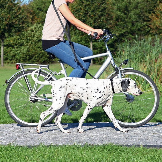 Vodítko na kolo a joging 1,00-2,00m/25mm TRIXIE