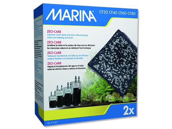Náplň zeolit-uhlí MARINA CF 570g