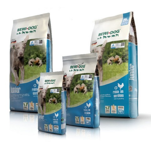 Bewi Dog Junior rich in poultry 3kg