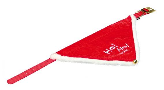 Vánoční šátek pro psa 37-47 cm / 20 mm M