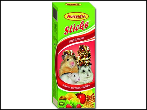 Tyčinky pro malé hlodavce ovocné 2ks