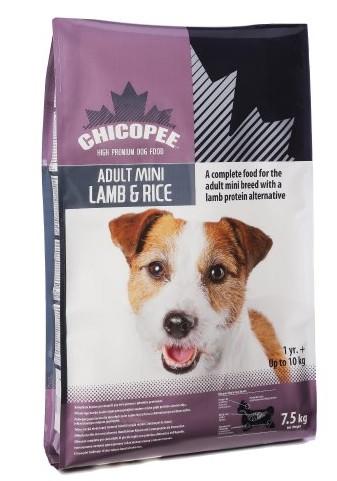 CHICOPEE MINI ADULT LAMB&RICE 400 G
