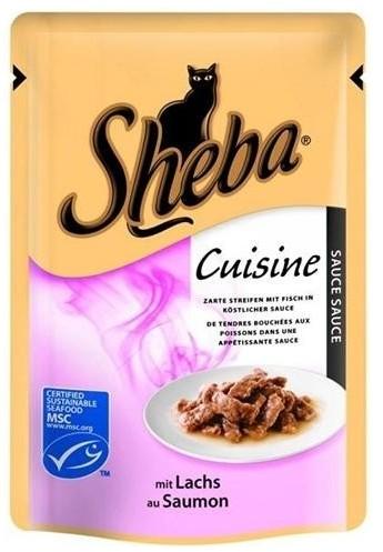 Sheba kapsa Cuisine losos ve šťávě 85g
