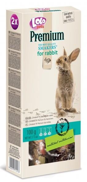 LOLO PREMIUM SMAKERS 2 klasy pro králíky 100 g