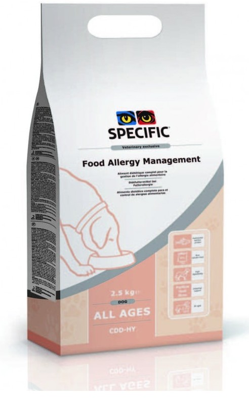 Specific CDD-HY Food Allergy Management 2,5kg