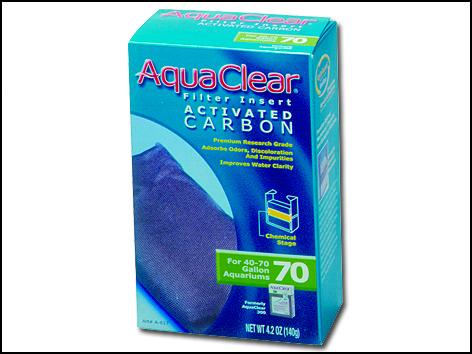 Náplň uhlí aktivní AC 70 (AC 300) 140g