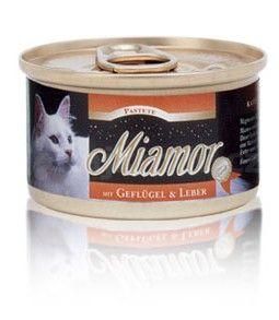 Miamor Cat paštika drůbež+drůbeží játra 85g