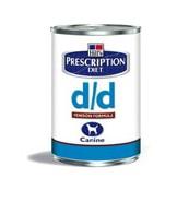 Hill's Canine D/D konzerva Salmon&Rice 370g