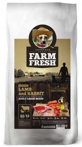 Topstein Farm Fresh Lamb & Rabbit Adult Large Breed 2kg