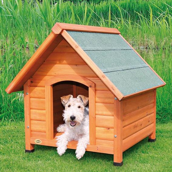 Bouda pro psa, dřevěná TRIXIE S 71x77x76cm