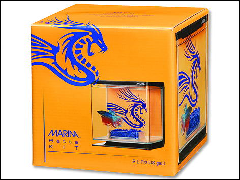 Akvárium Betta Marina Kit Boy 2l
