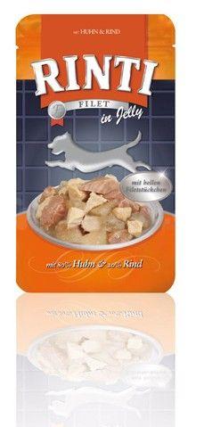 Rinti Dog Filet kapsa kuře+hovězí 125g