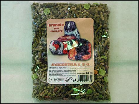 Granule pro morčata 500g