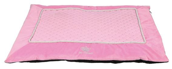 MY PRINCESS plyšová deka růžová 70x50 cm