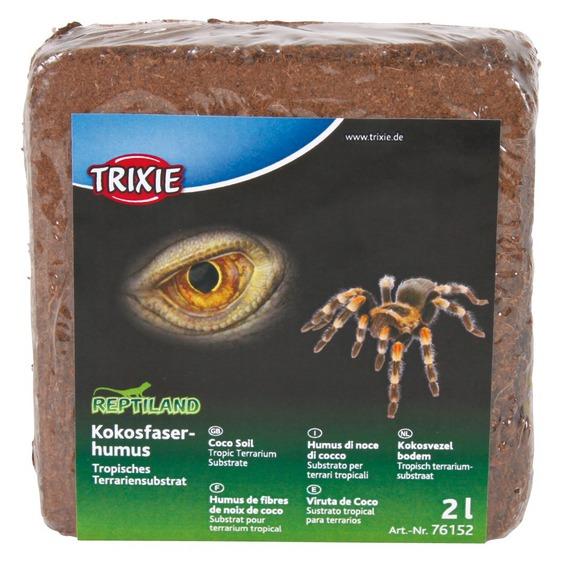 Kokosový humus 6 ks, tropický substrát 2 l/160 g