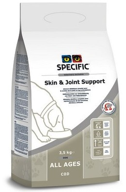 Specific COD Skin+Joint Support 3,5kg pes