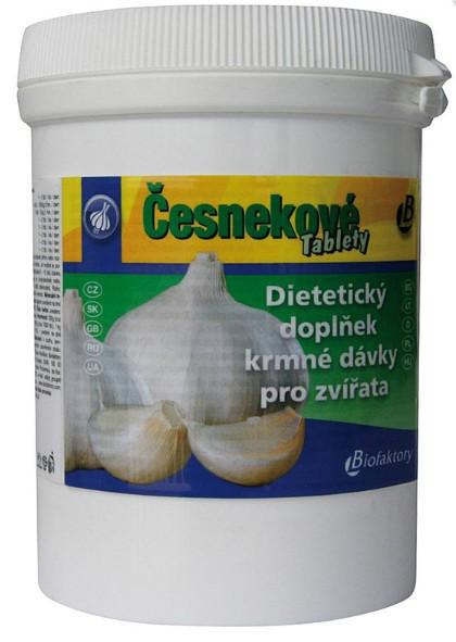 Česnekové tablety 100g