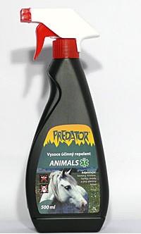Repelent pro zvířata Predator 500ml mechanický rozprašovač