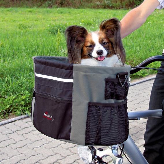 Přepravní BOX pro zvířata k upevnění na řidítka 38x27x28 cm