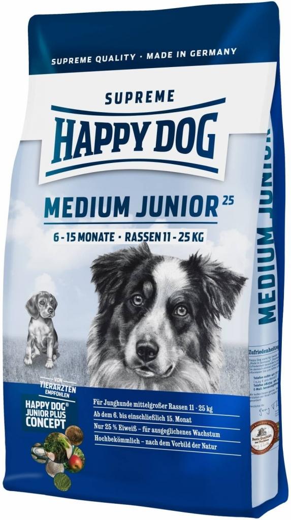 Happy Dog Supreme Medium Junior 25 (6-15M) 10kg
