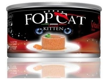 FOP konzerva Mousse Cat kitten - 85g