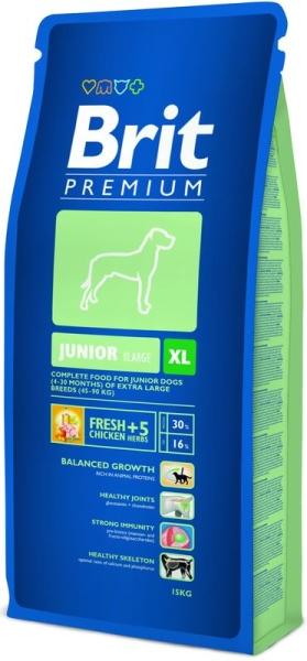 Brit Premium Dog Junior XL 15kg krmivo pro psy
