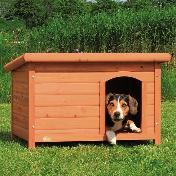 Bouda pro psa, dřevěná, rovná střecha TRIXIE 85x58x58cm