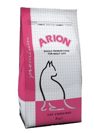 Arion Cat Premium Sterilized 10kg