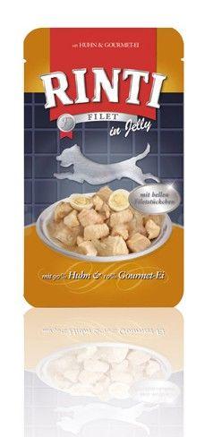 Rinti Dog Filet kapsa kuře+vejce 125g