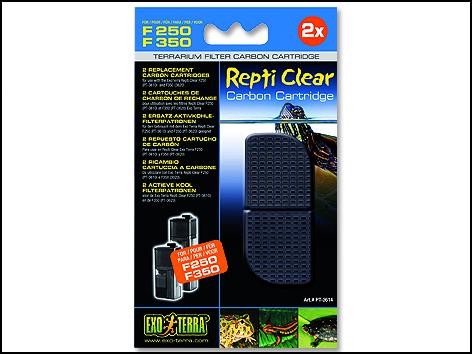 Náplň uhlí aktivní EXO TERRA Repti Clear F250 / F350 1ks