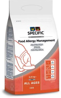 Specific CDD Food Allergy Management 2,5kg pes