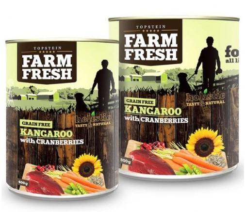 Topstein Farm Fresh Kangaroo with Cranberry 400g