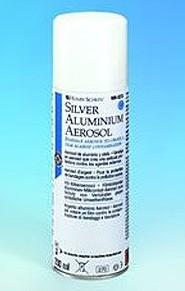 Aluminium silver spray 200ml Henry Schein