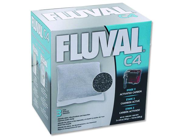 Náplň sáčky aktivní uhlí FLUVAL C4 3ks