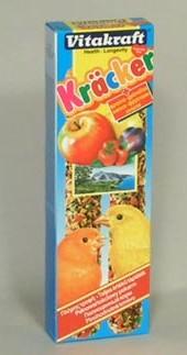 Vitakraft ptactvo Kräcker Canary Fruit tyčinka 2ks