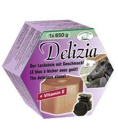 Liz solný pro koně DELIZIA náplň lékořice