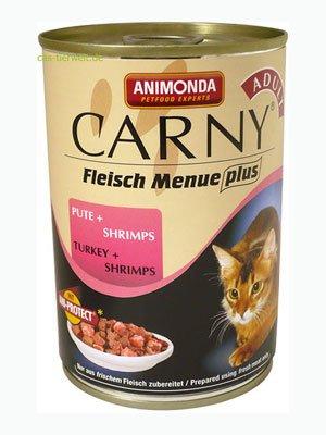 Animonda konzerva CARNY Adult - krůta, ráčci 200g