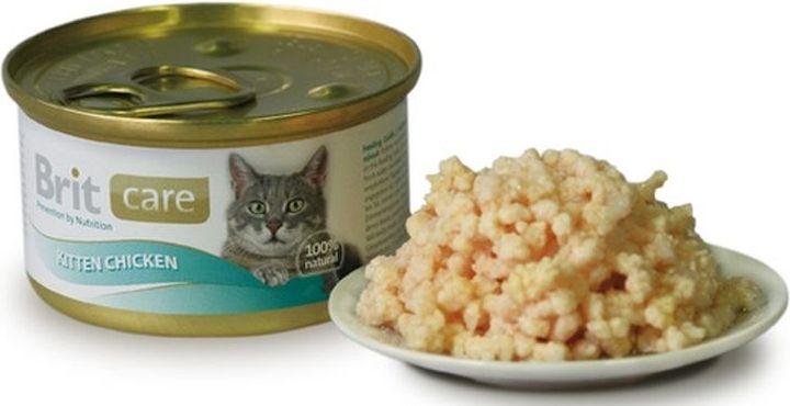 Brit Care Cat Kitten Konz. kuřecí prsa 80g